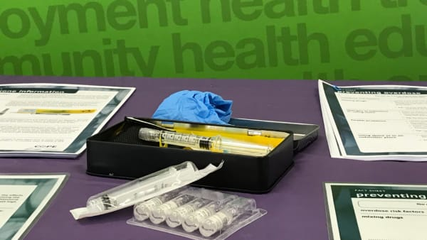 Take home naloxone kit